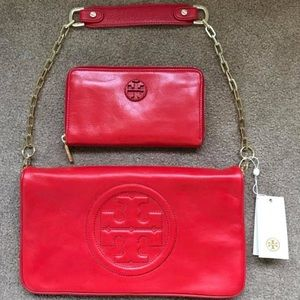 Tory Burch Clutch & Wallet
